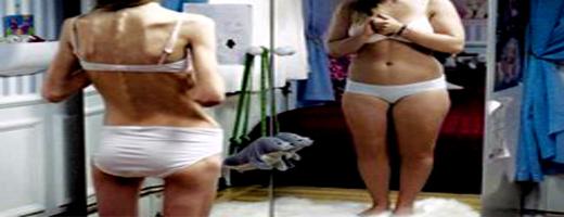 Adolescenti davanti allo specchio