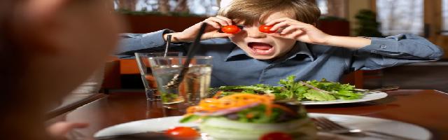 imparare a mangiare