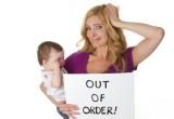 difficoltà della madre con il neonato